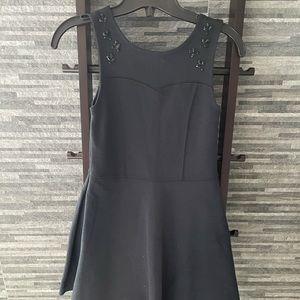 Abercrombie Kids Girls Black Jewelled Dress
